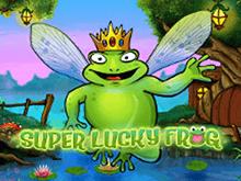 Игровой автомат Удачливая Лягушка на деньги