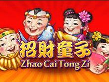 Играть на настоящие деньги в слот Zhao Cai Tong Zi